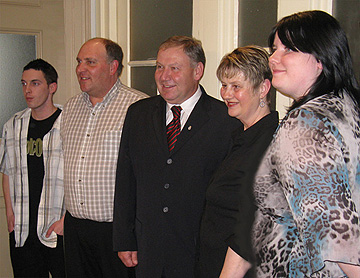 Adult Learners Week Contest Winners at Province House, March 2, 2010.